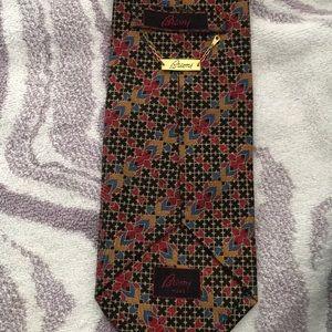 New Brioni silk tie
